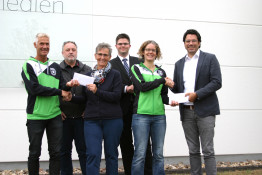 700 Euro Spendengelder bei Run & Walk