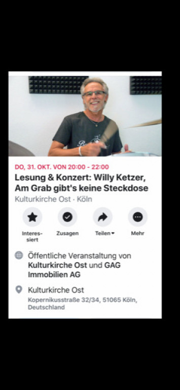 Willy Ketzer in Ostheim