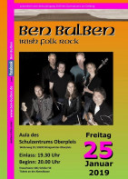 Konzert: BEN BULBEN – Irish Folk Rock am Oelberg