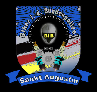 Biker in der Bundespolizei