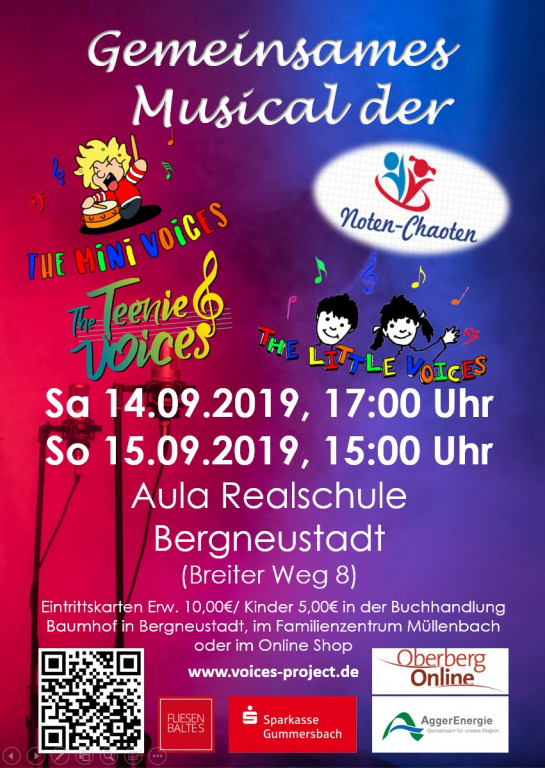 Musical der Mini-, Little- und Teenie Voices