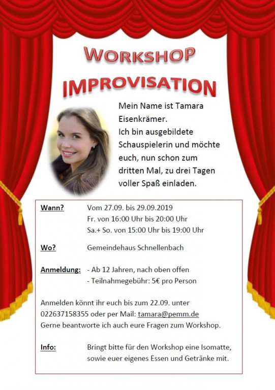 Workshop Improvisation