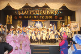 Damensitzung in Oberliblar