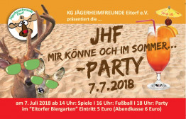 Offenes Sommerfest